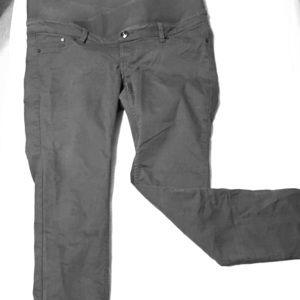 Grey maternity skinny jeans